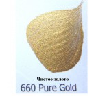 660 Чистое золото Металлик Акриловая краска FolkArt Plaid