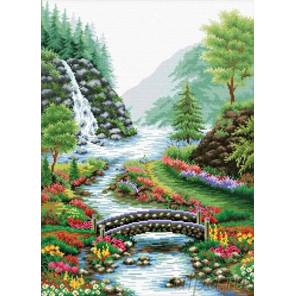 Река в лесу Набор для вышивания Белоснежка 1554-14