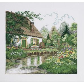 Дом у озера Набор для вышивания Eva Rosenstand 74-184