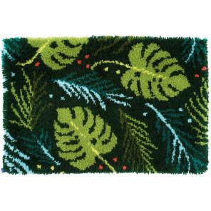 В рамке Листья Набор для вышивания коврика Vervaco PN-0170834
